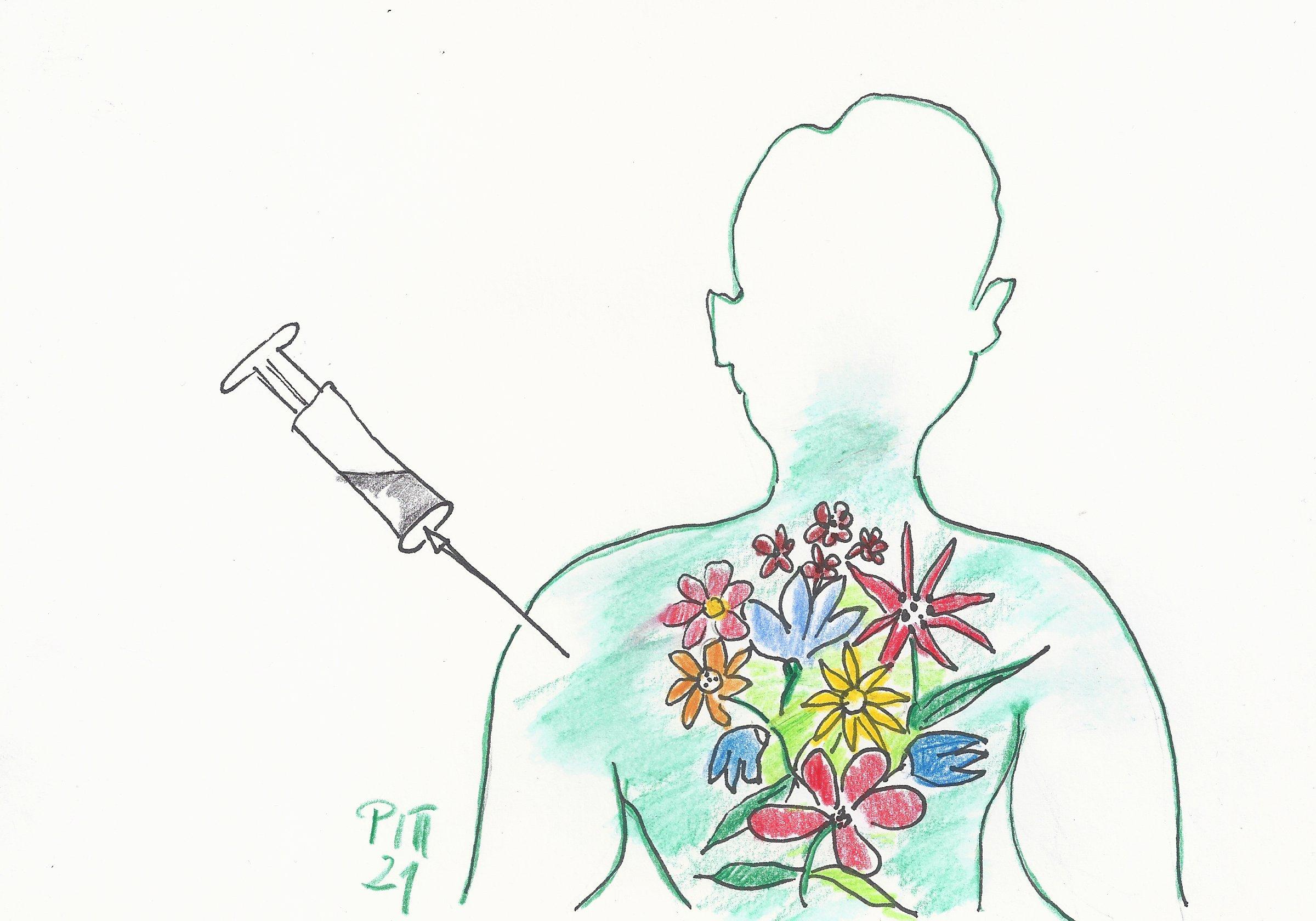 Impfbegleittee